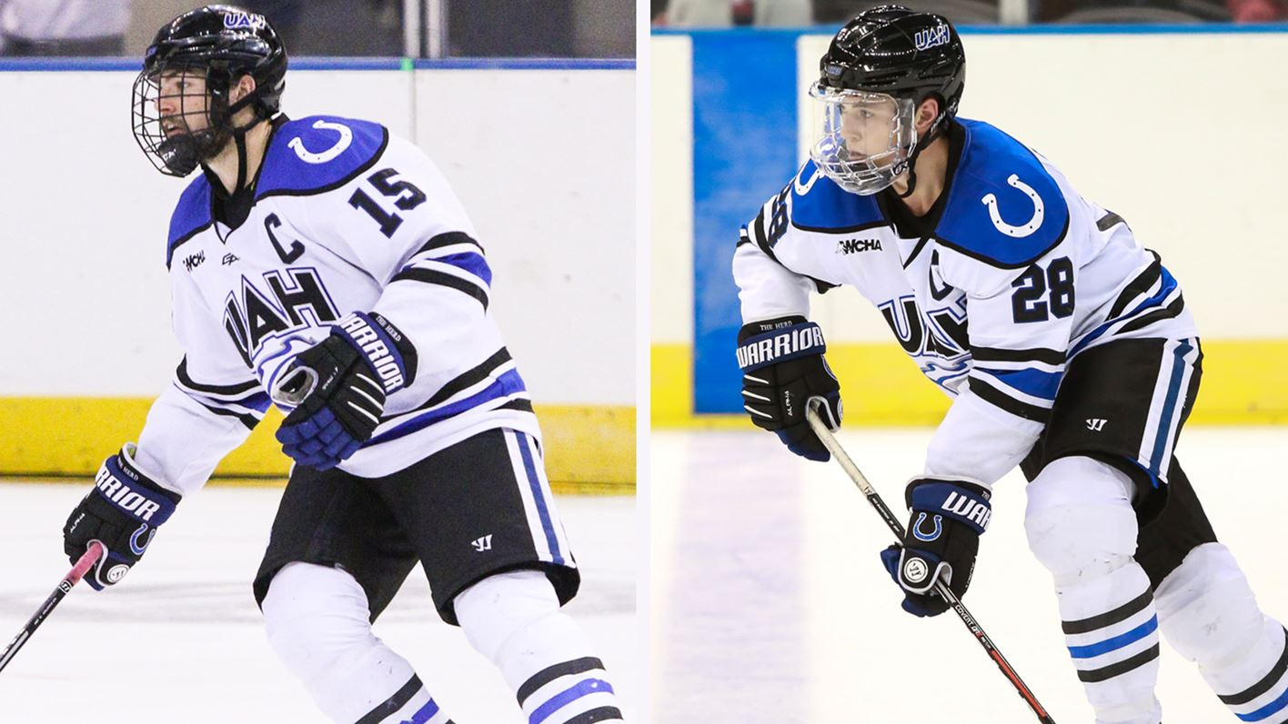 Gorowsky and Gosselin Tabbed for WCHA Monthly Honors - UAH Athletics 6c92322cc6622